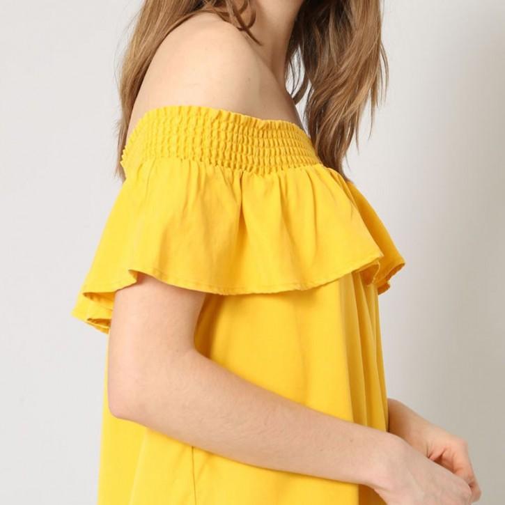 Col Bardot Dress TITLE